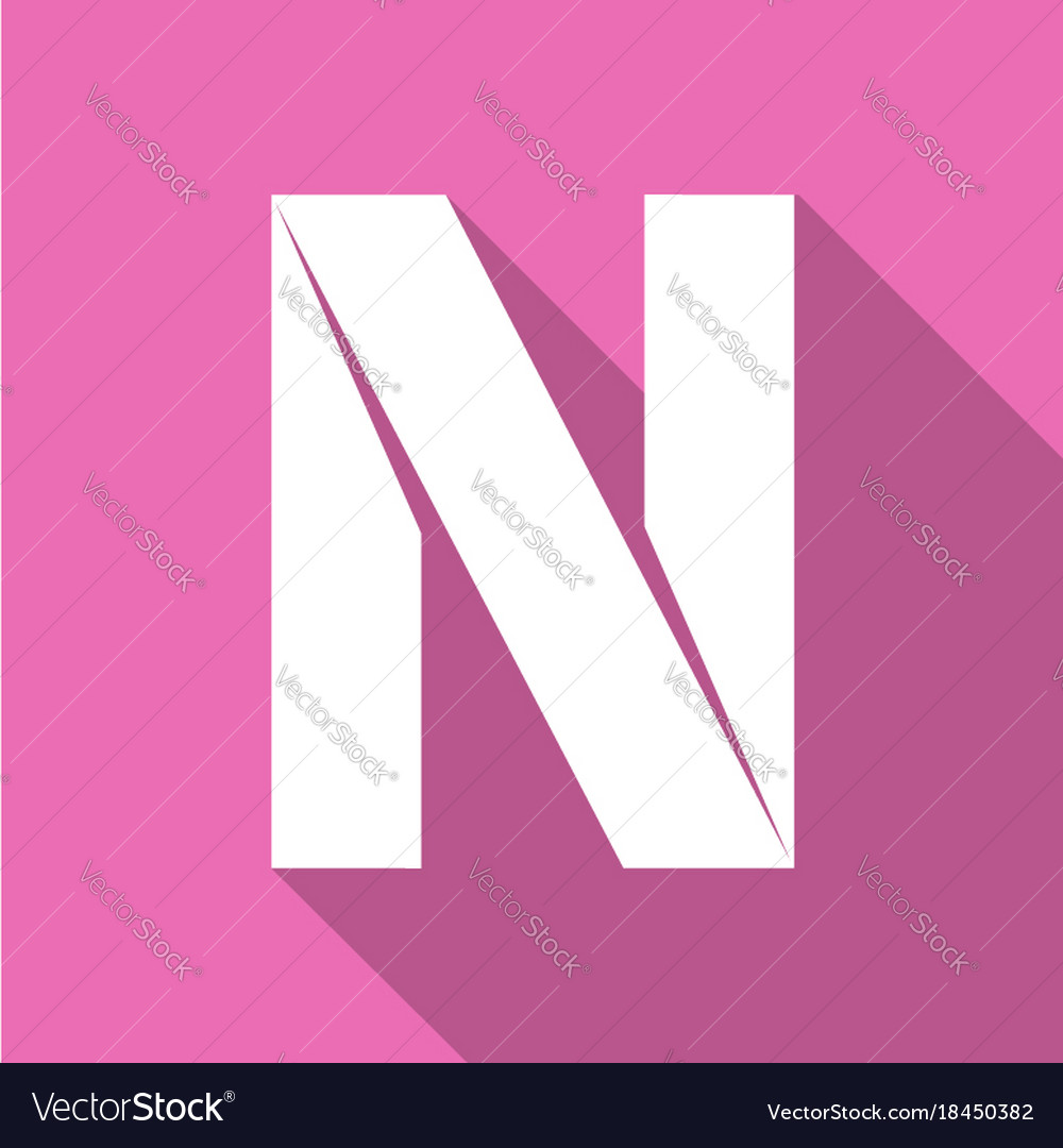 Letter, N, Coloring & Book Vector Images (43)