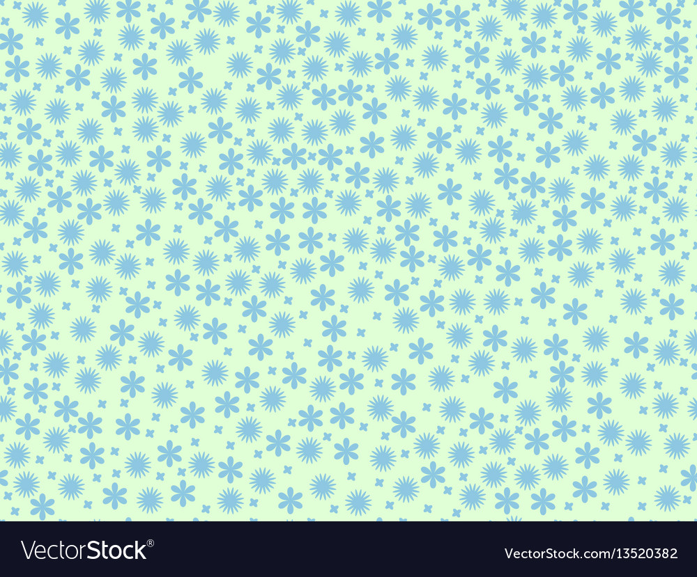Spring seamless pattern with flowers daisies