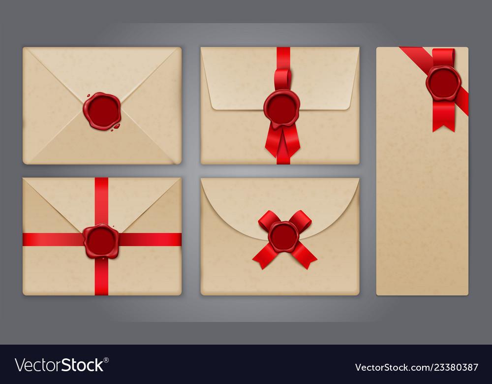 Wafer envelopes postcard collection