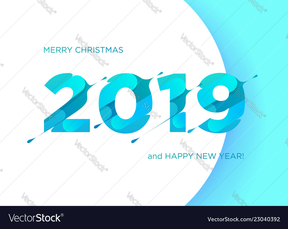 2019 numbers happy new year