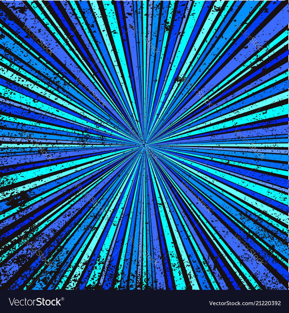 Blue retro grunge background