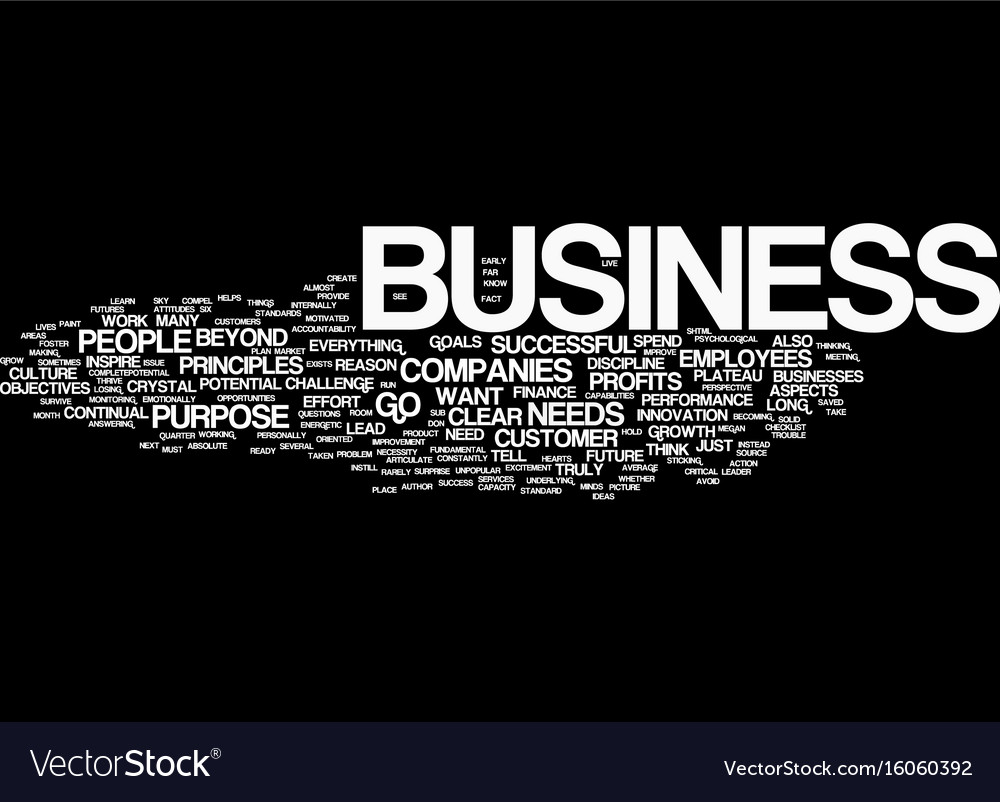 Your business success checklist text background vector image