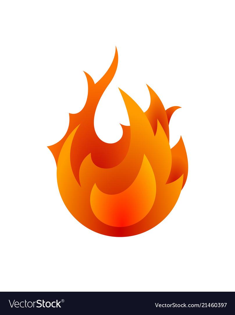 Fire icon for design fire icon object icon