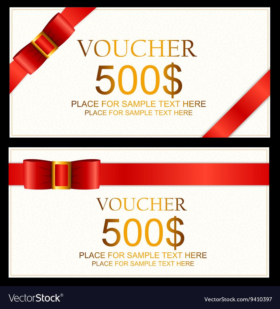 Business Voucher Template from cdn3.vectorstock.com
