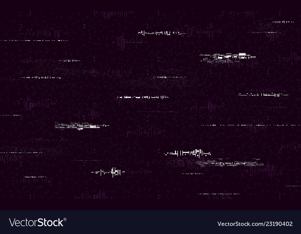 glitch minimal template retro vhs background vector image