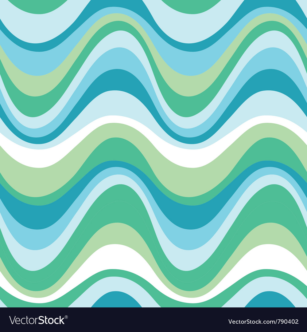 Water sea pattern vector image