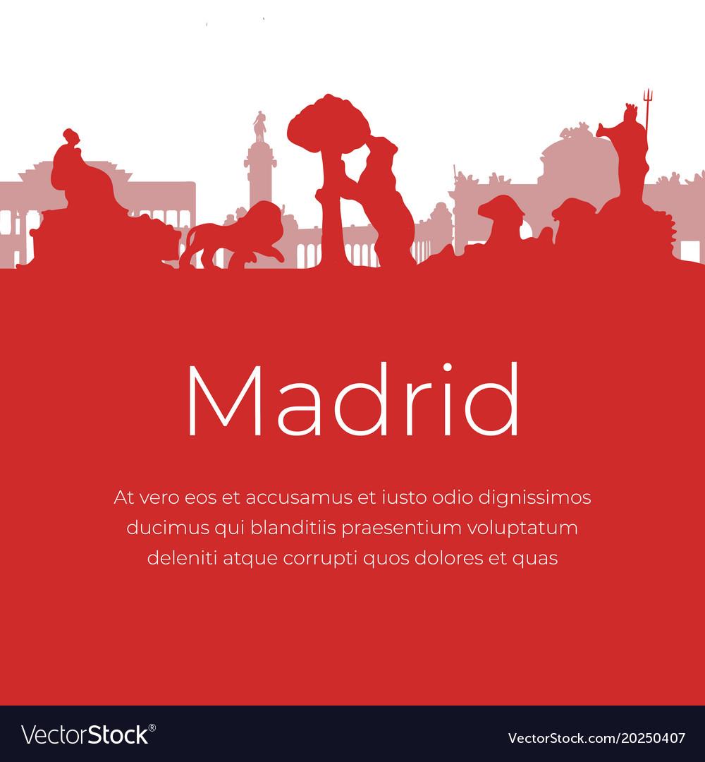 Madrid spain landmarks and monuments