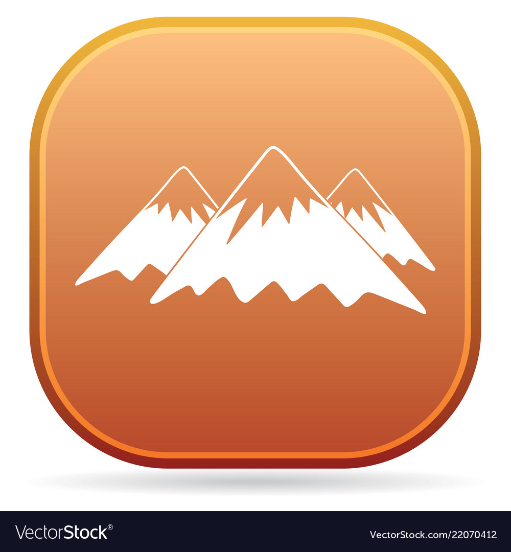 Mountain icon concept