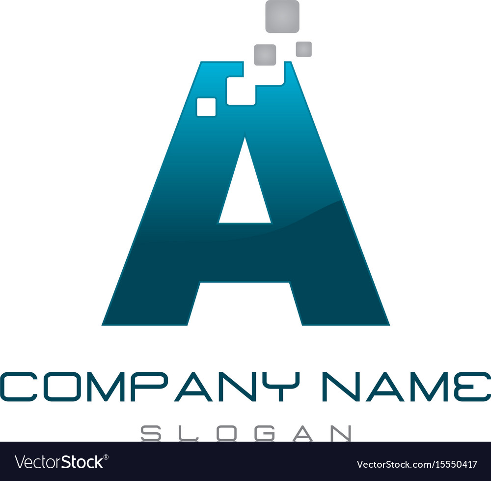 Modern letter a
