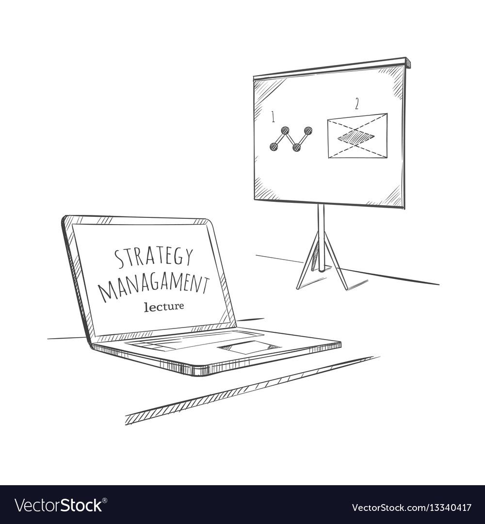 Sketch education business concept