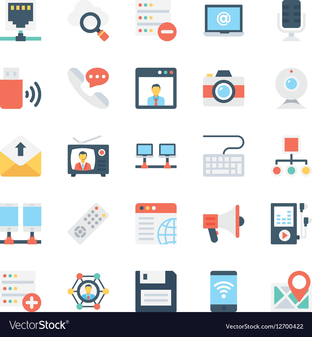 Network and Communications Icons 3