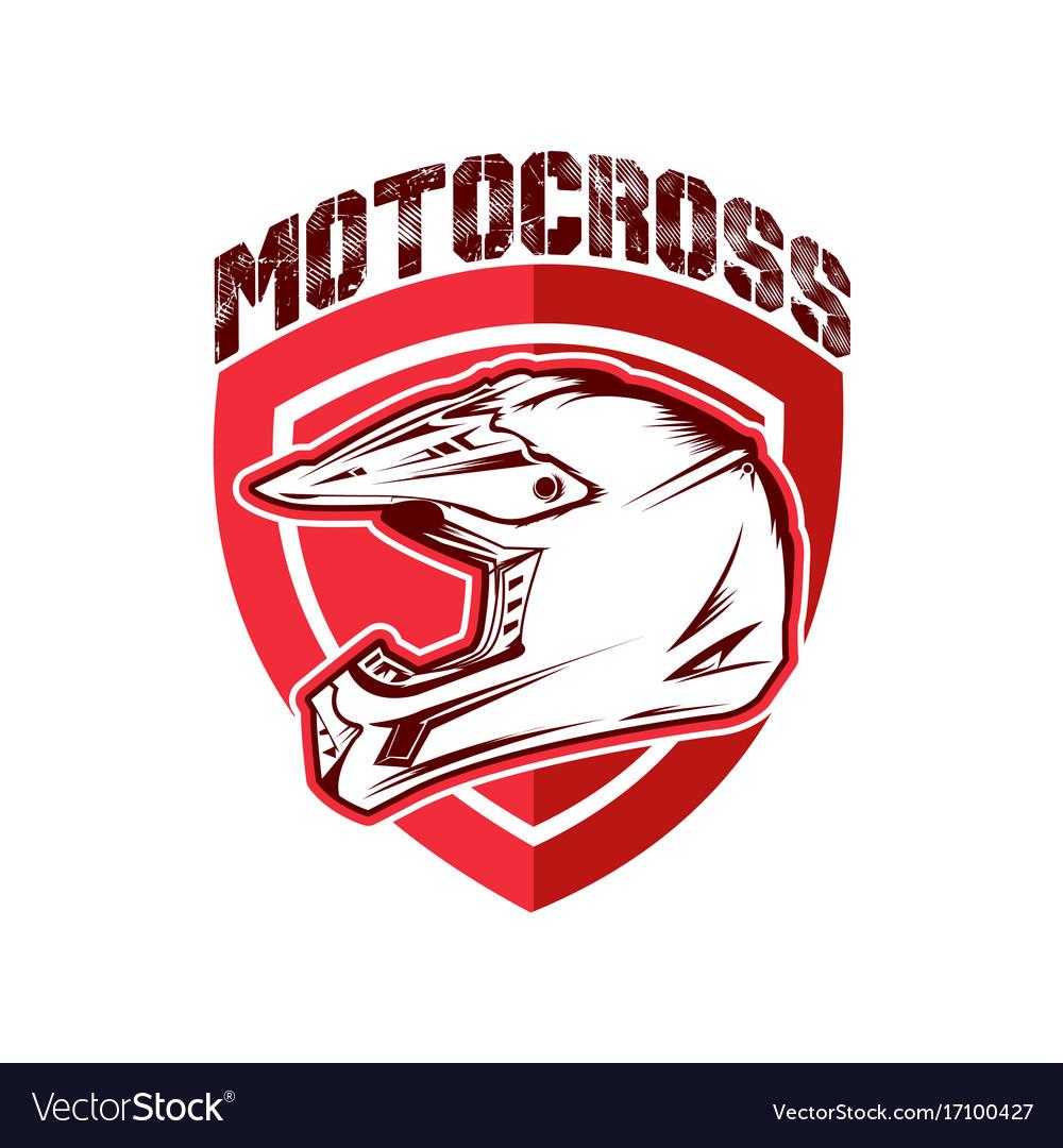 Design motocross racing helmet