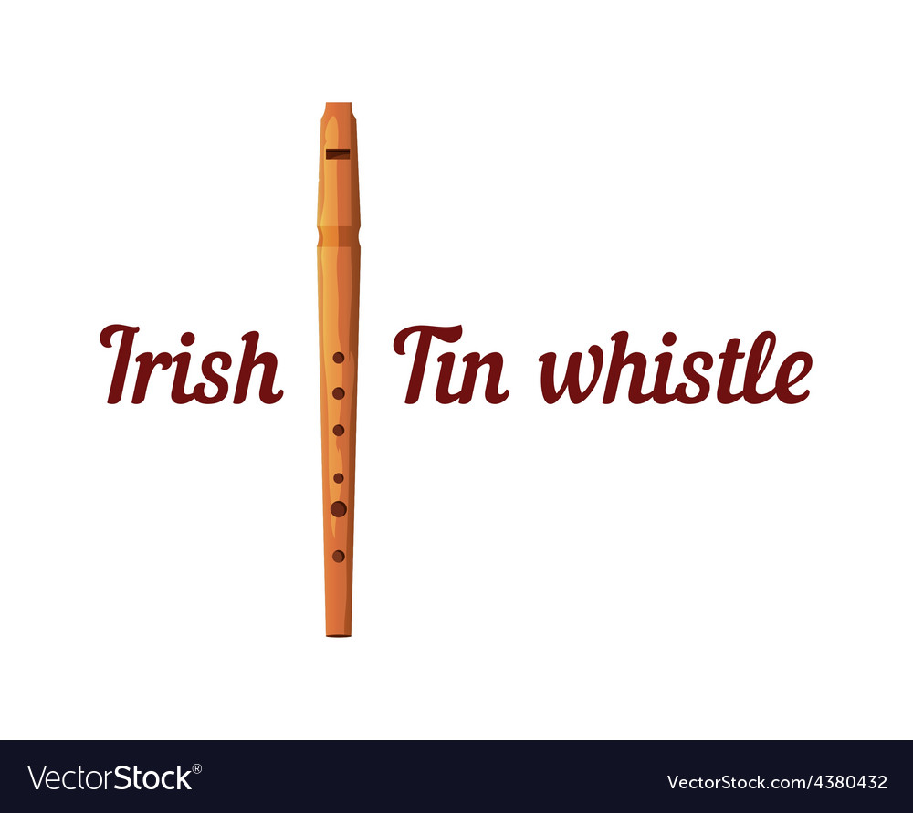 Wooden Tin Whistle
