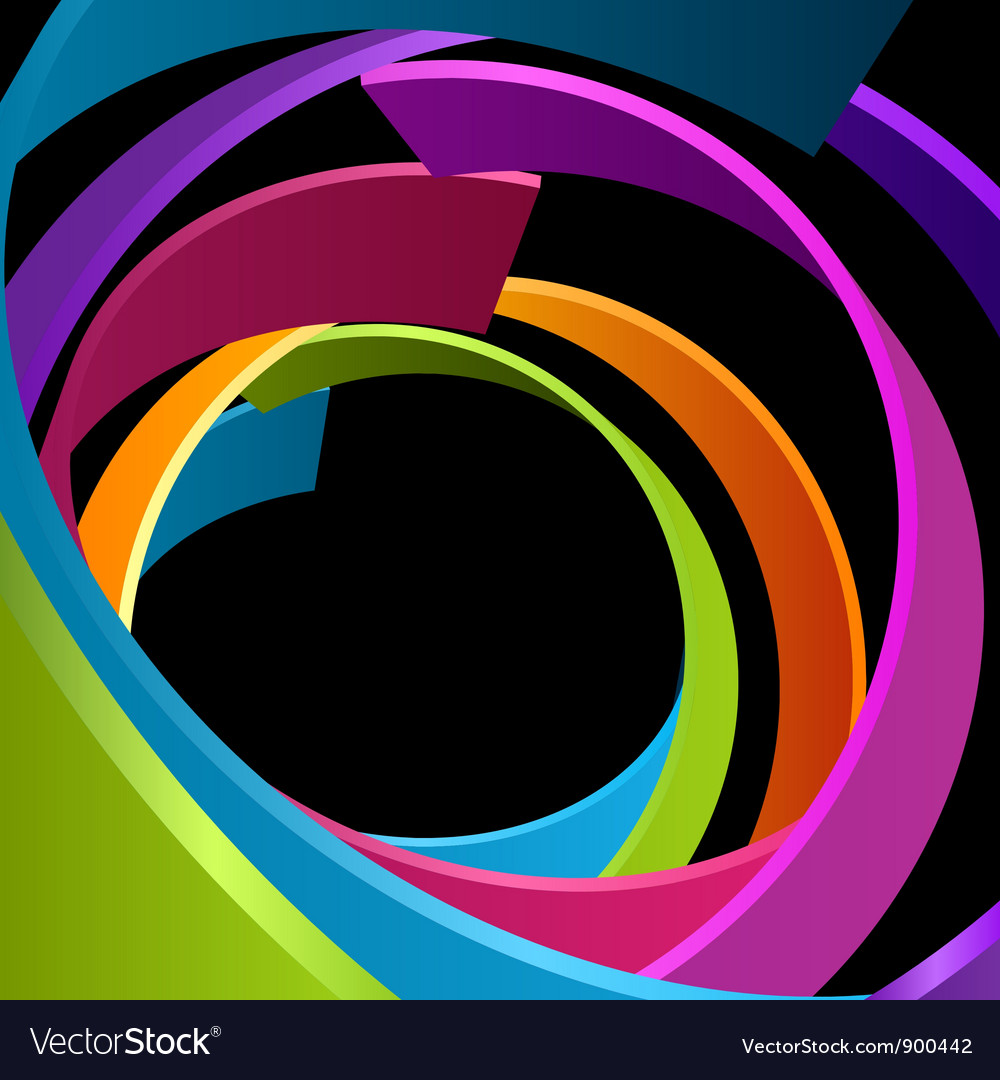 Abstract circle rings background