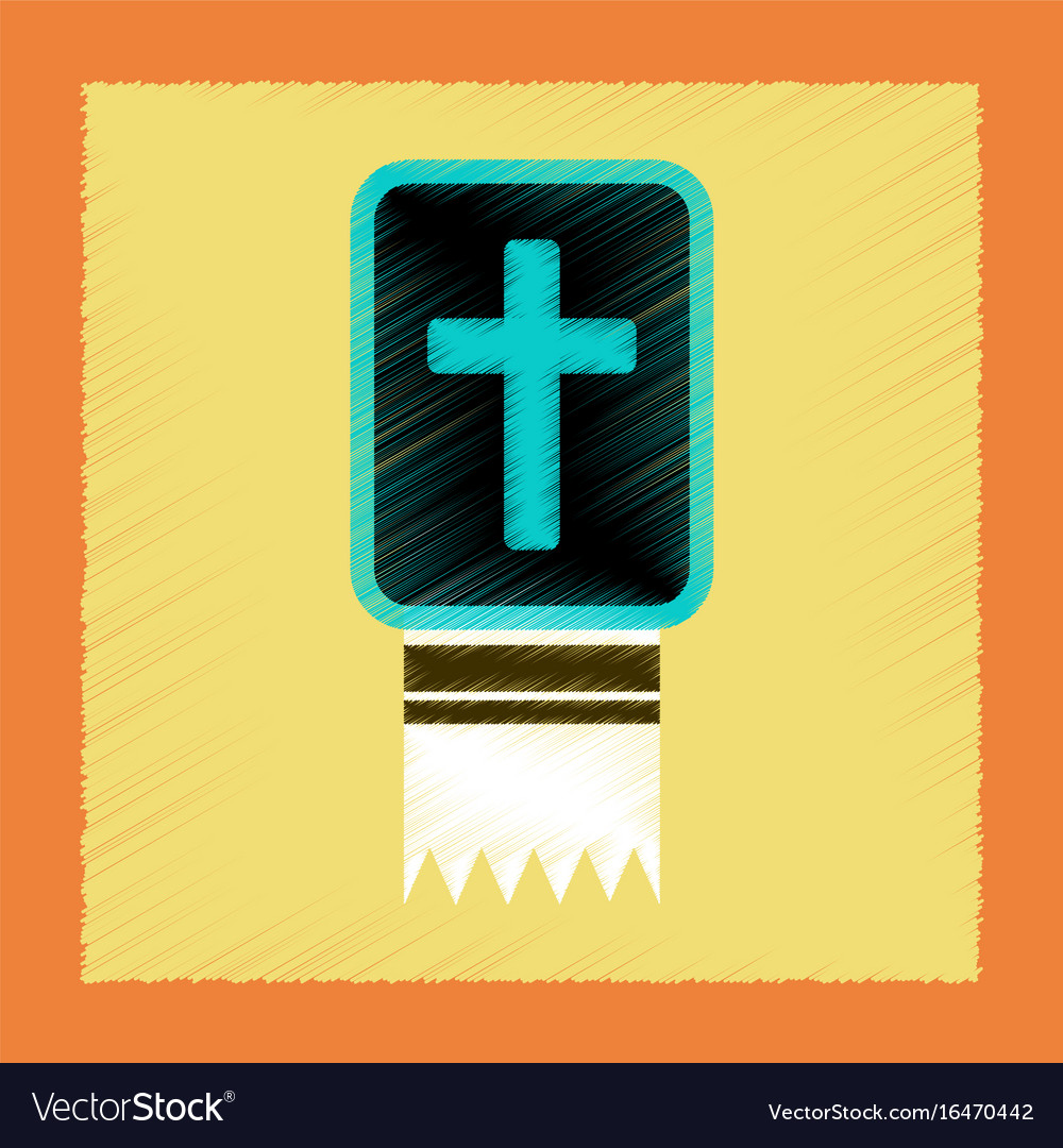 Flat shading style icon bible book