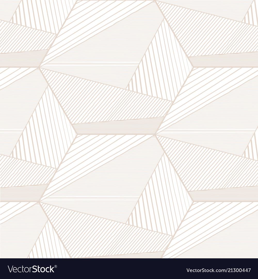 Abstract beige lines background hexagon hexagon