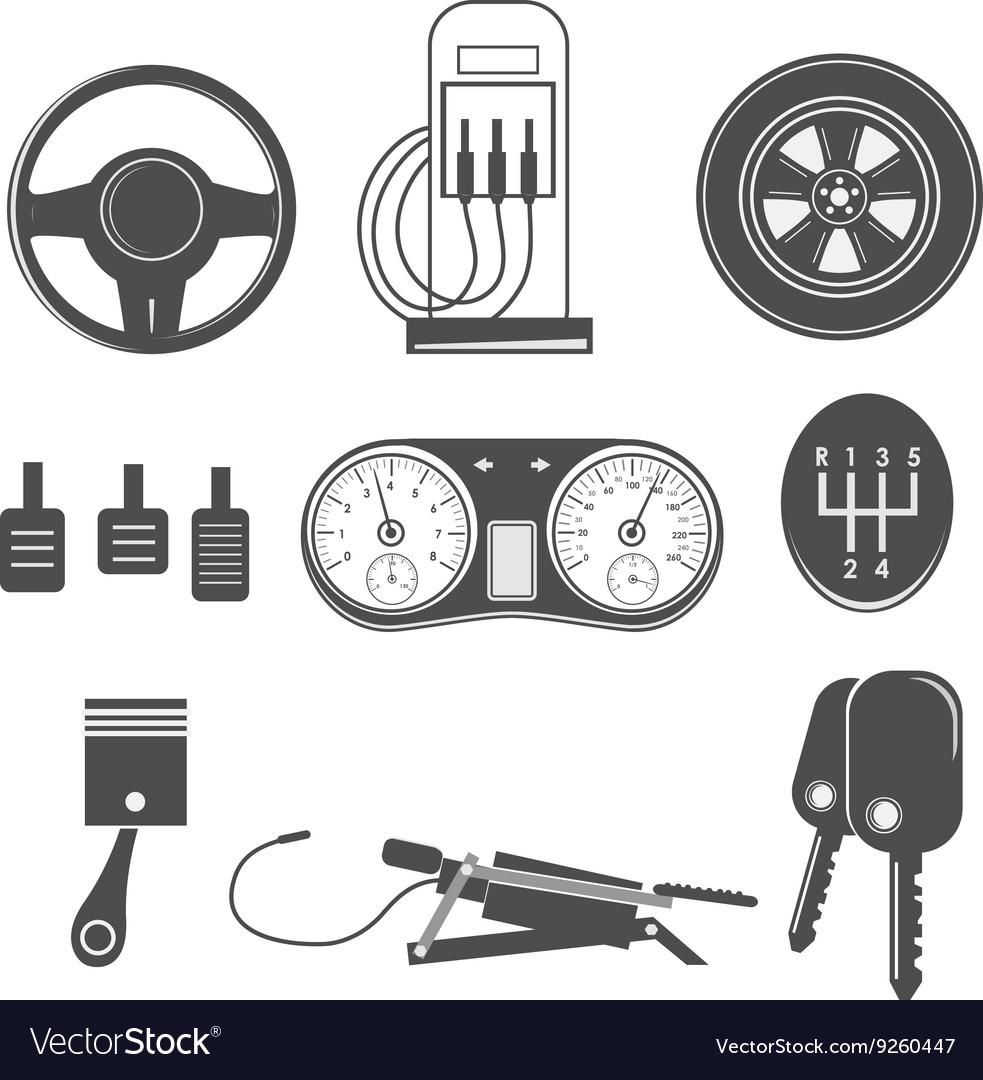 Automotive icons theme
