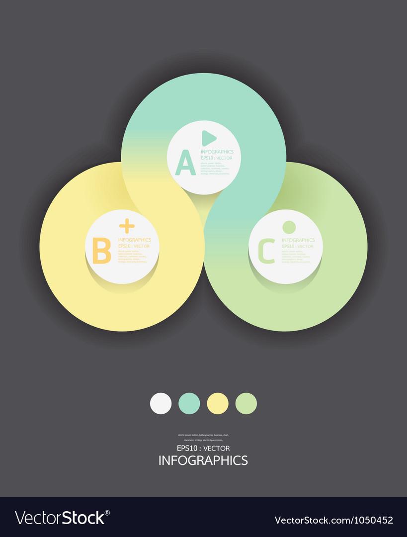 Modern Circle Design soft color template