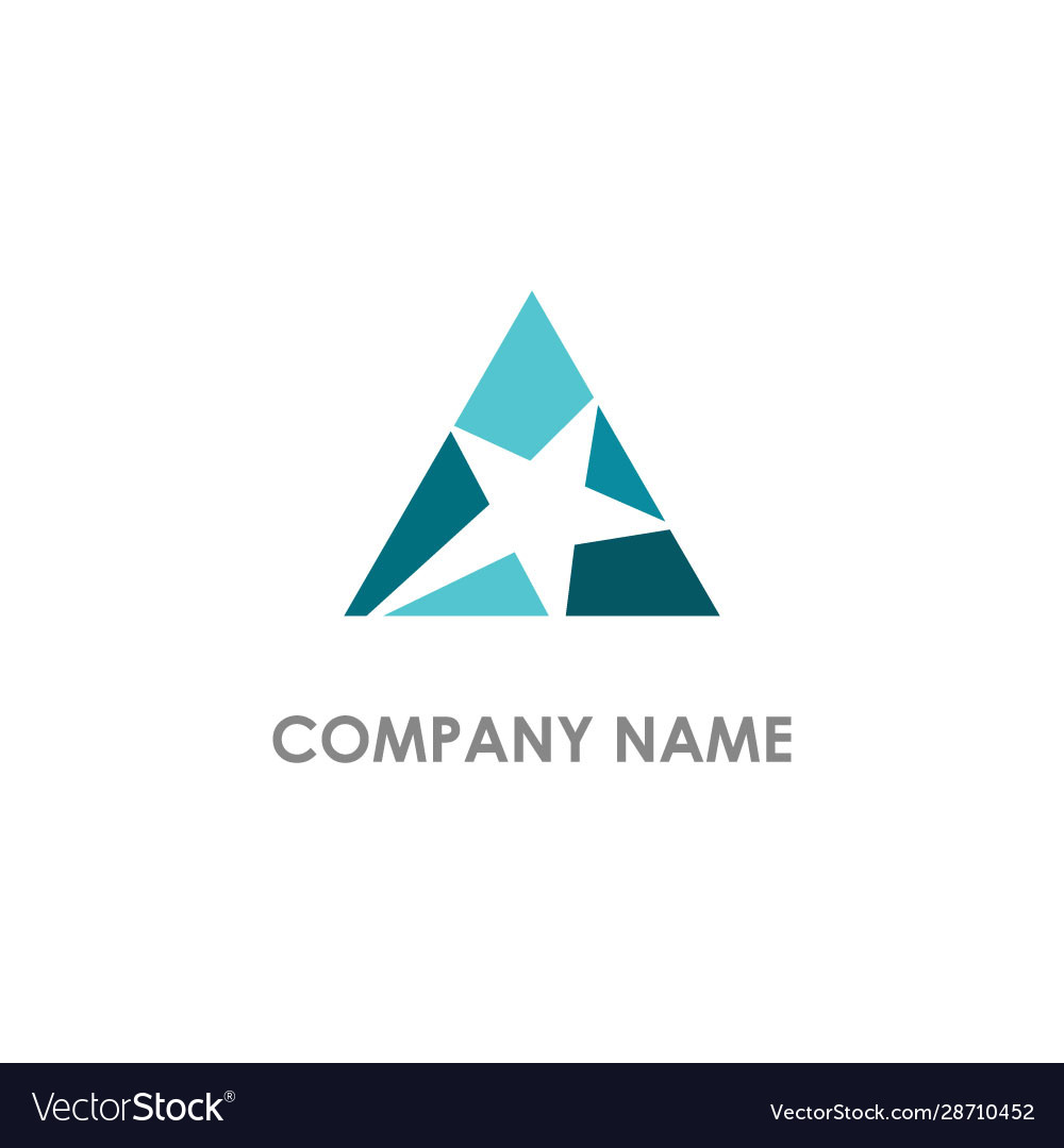 Star triangle logo
