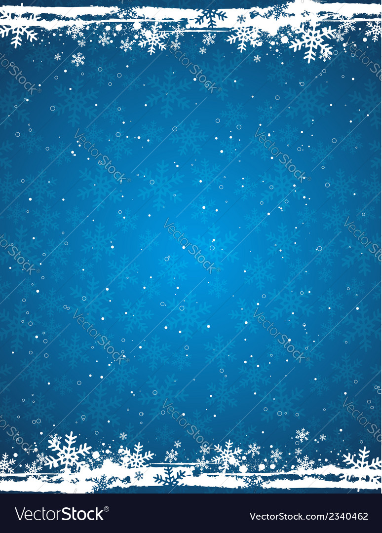 blue grunge christmas background royalty free vector image blue grunge christmas background royalty free vector image