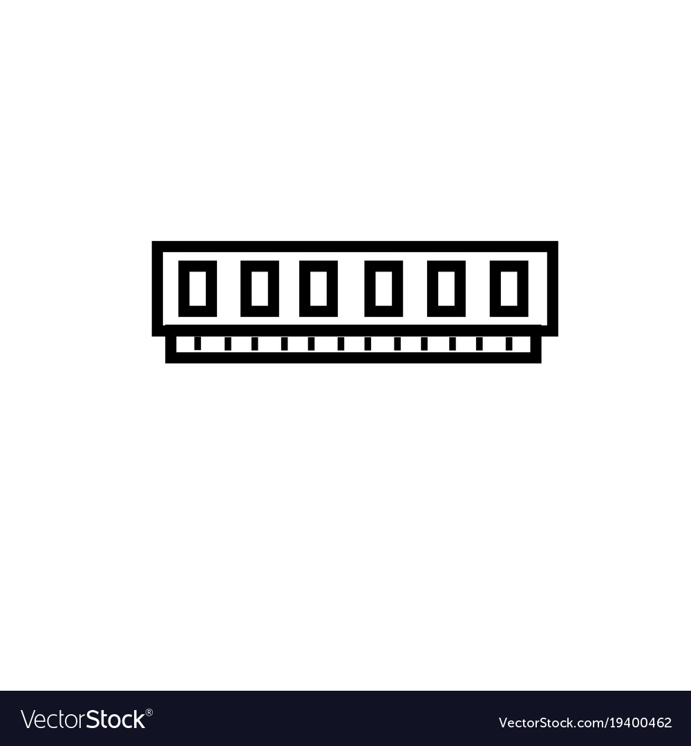 Virtual memory ram icon
