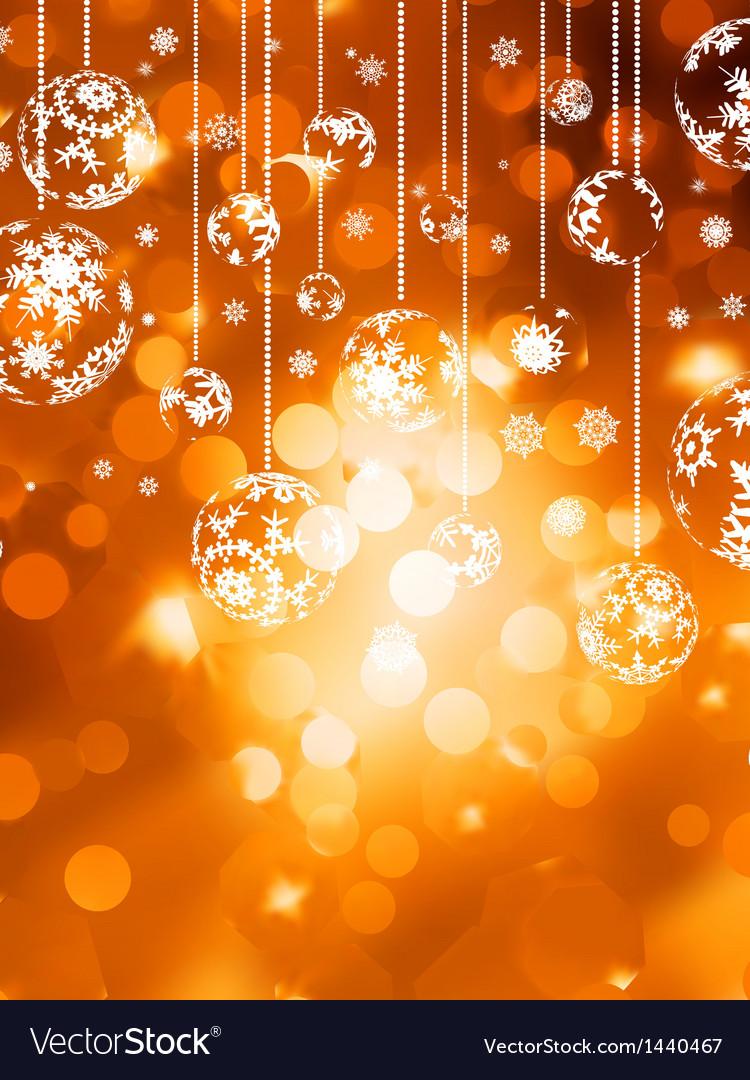 Abstract christmas with snowflake EPS 10