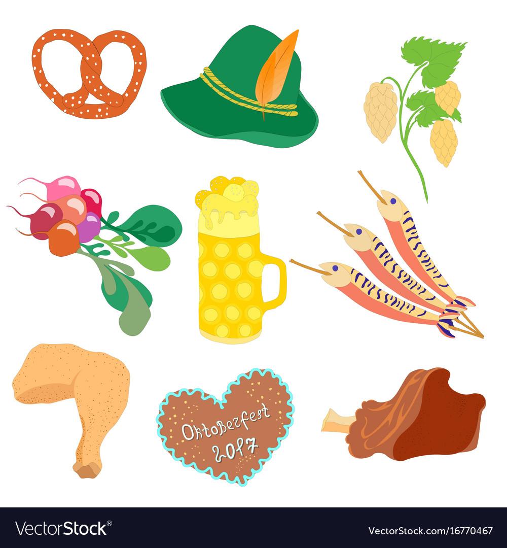 Oktoberfest objects clip art