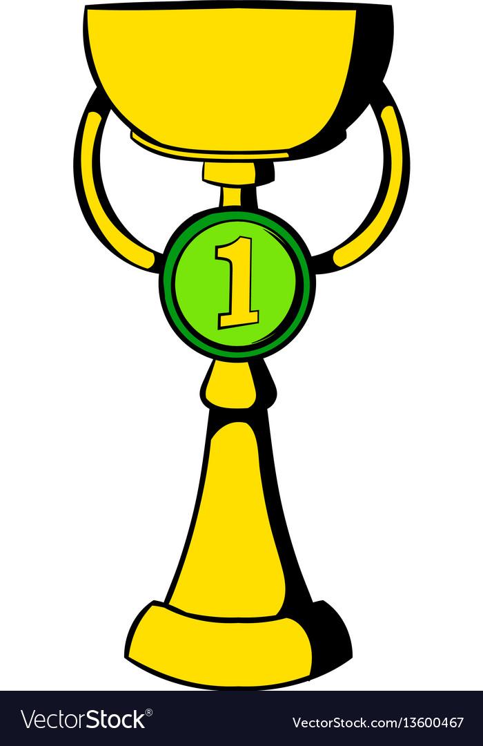 Trophy cup icon icon cartoon