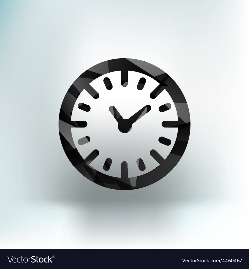 Watch clock icon time timer