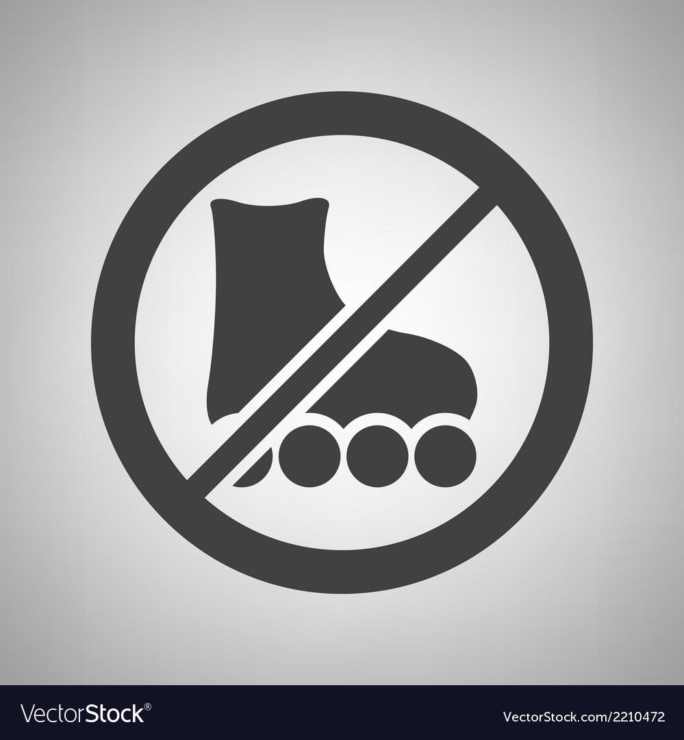 Do not ride icon
