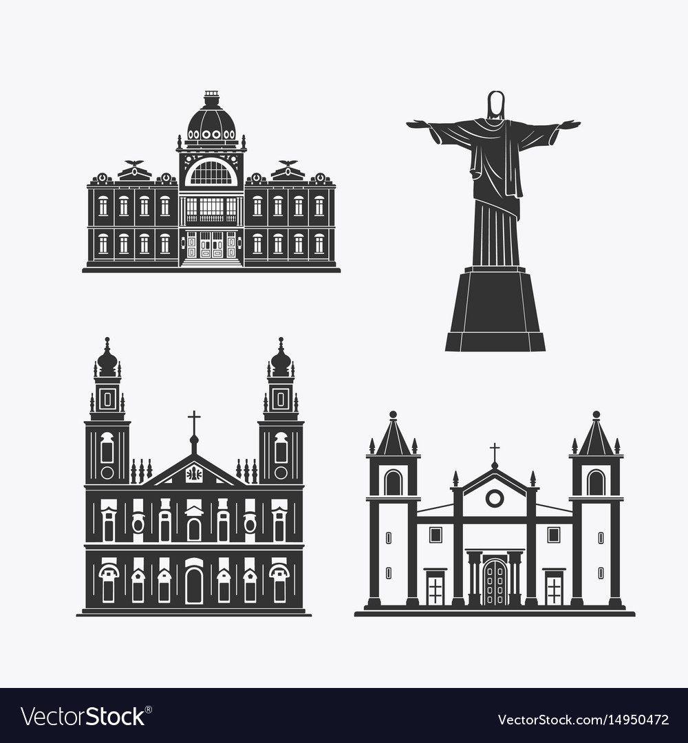 Historic monument architecture of brazilian
