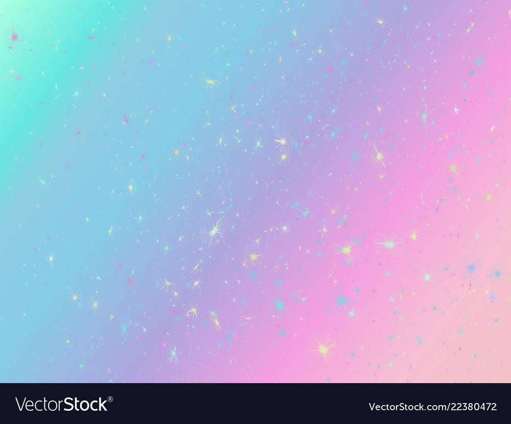 Unicorn background with rainbow mesh fantasy