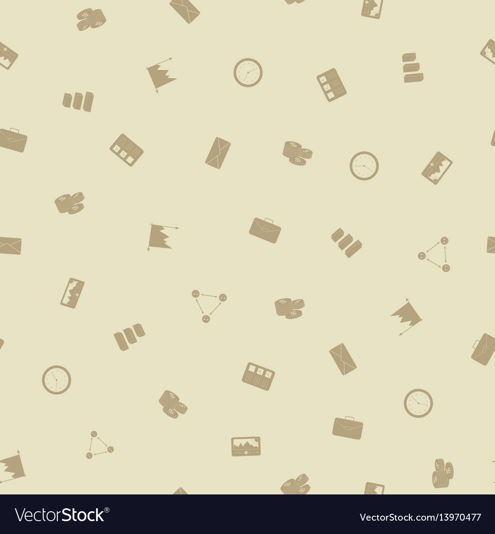 Office business seamless pattern background