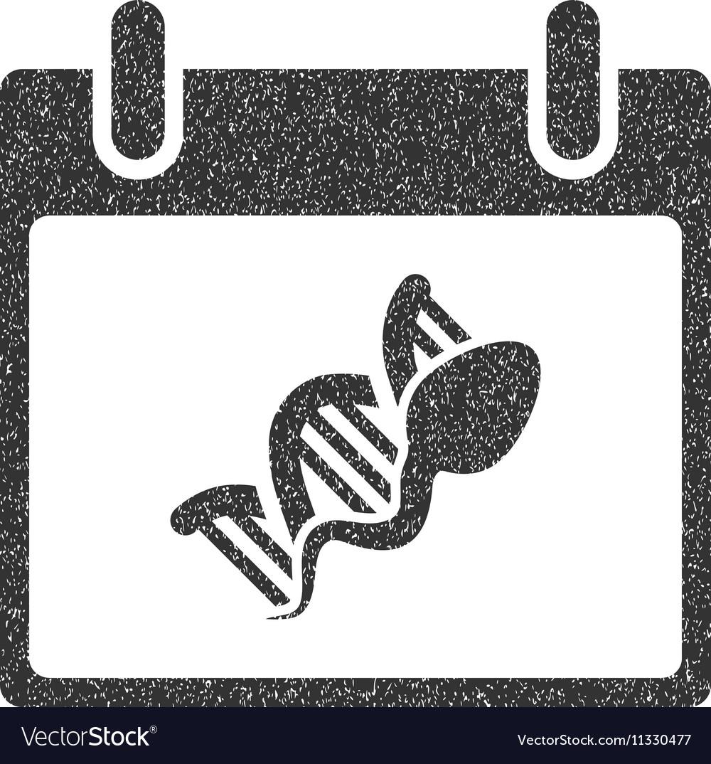 Sperm DNA Replication Calendar Day Grainy Texture