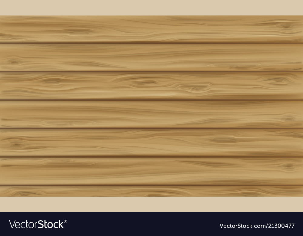 Wooden panel plank