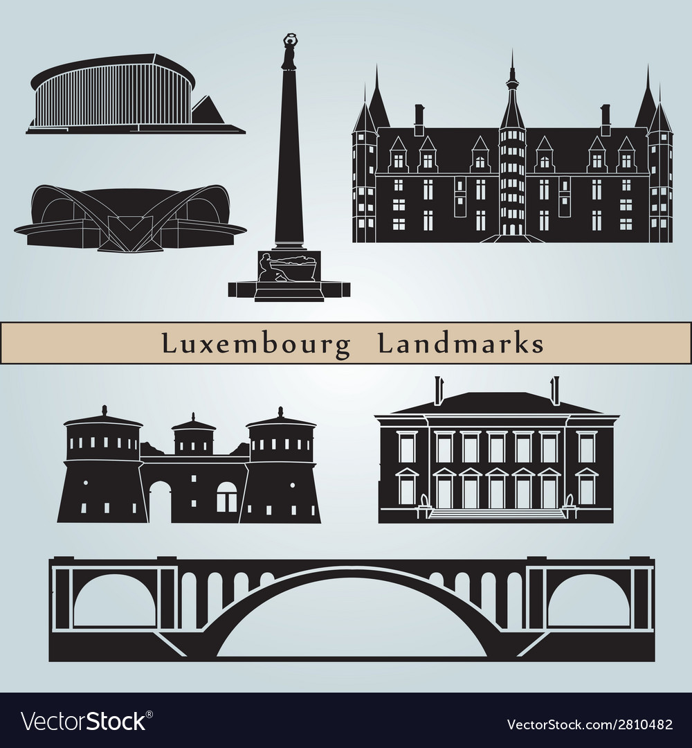 Luxembourg landmarks and monuments