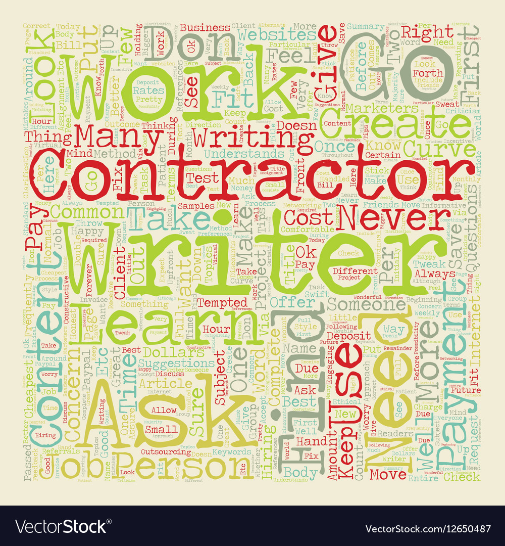 How To Work With Contractors To Create Great