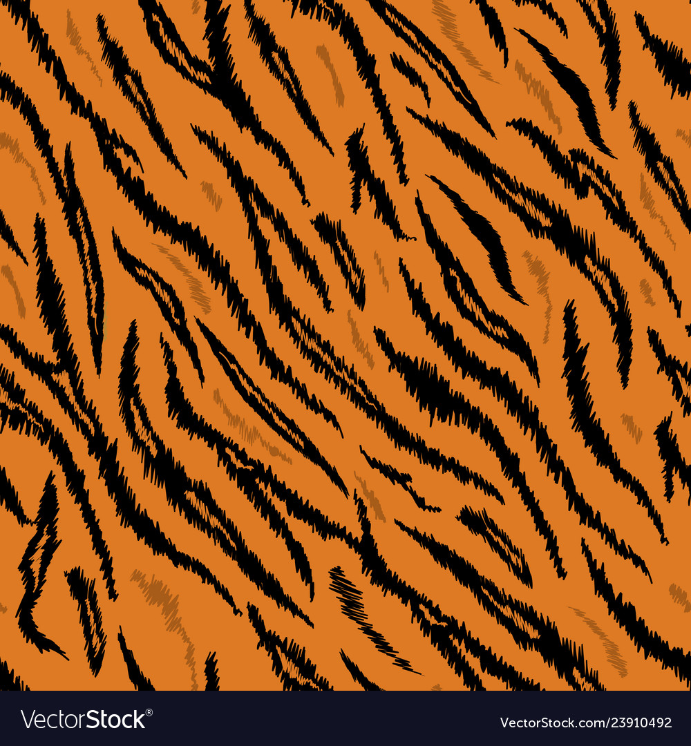 Tiger texture seamless animal pattern background