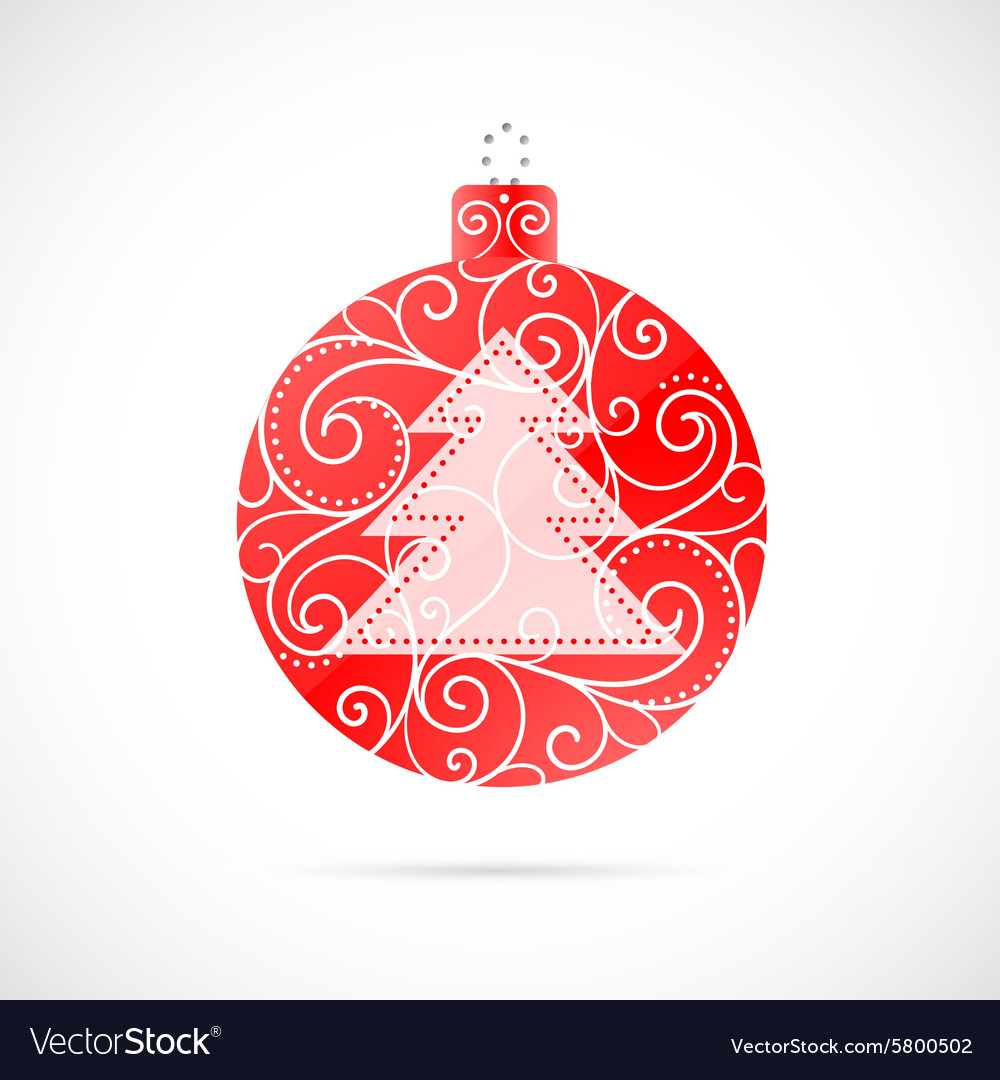 Christmas decoration as symbol for winter holidays