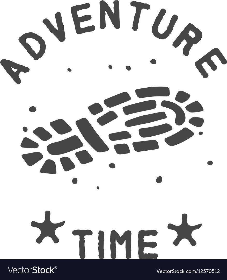 Adventure theme emblem