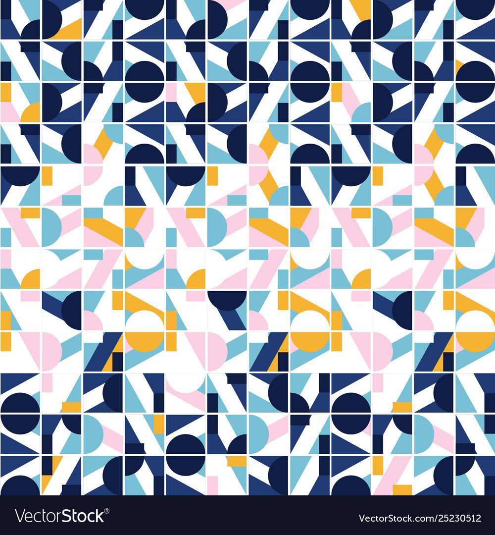 Modern geo tile