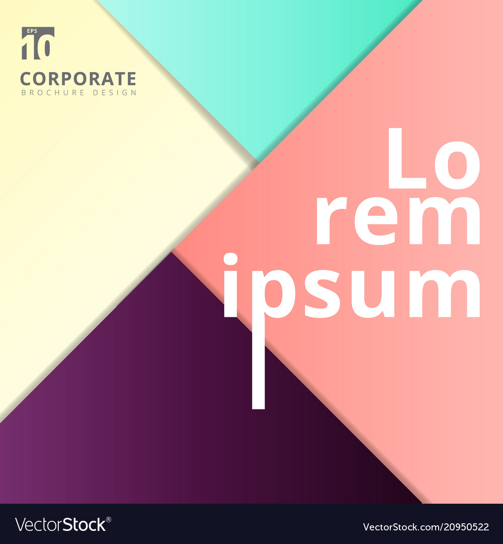 Abstract geometric layout minimal style background