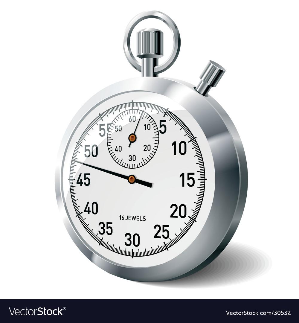 Stopwatch vector image
