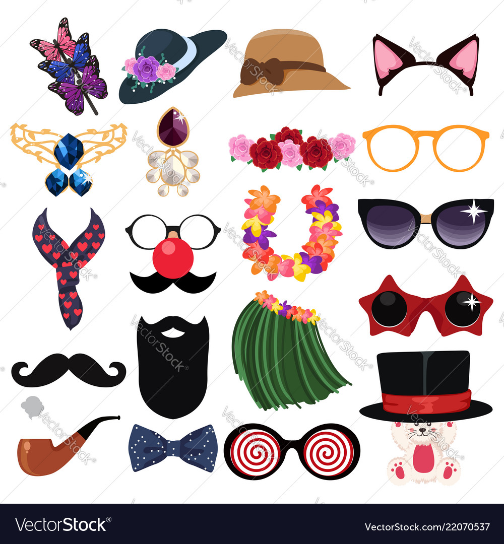 Fashion Accessories Design Elements Royalty Free Vector