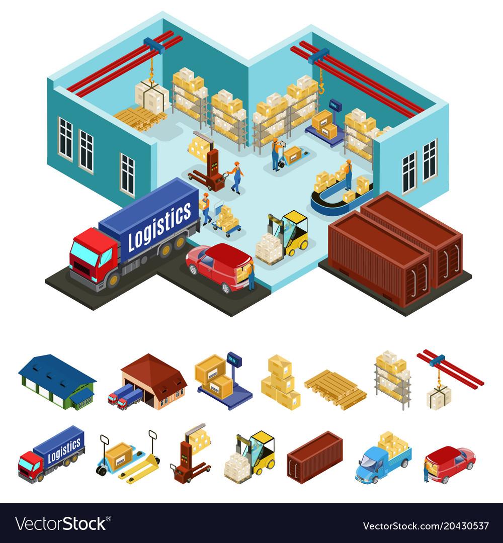 Isometric warehouse concept