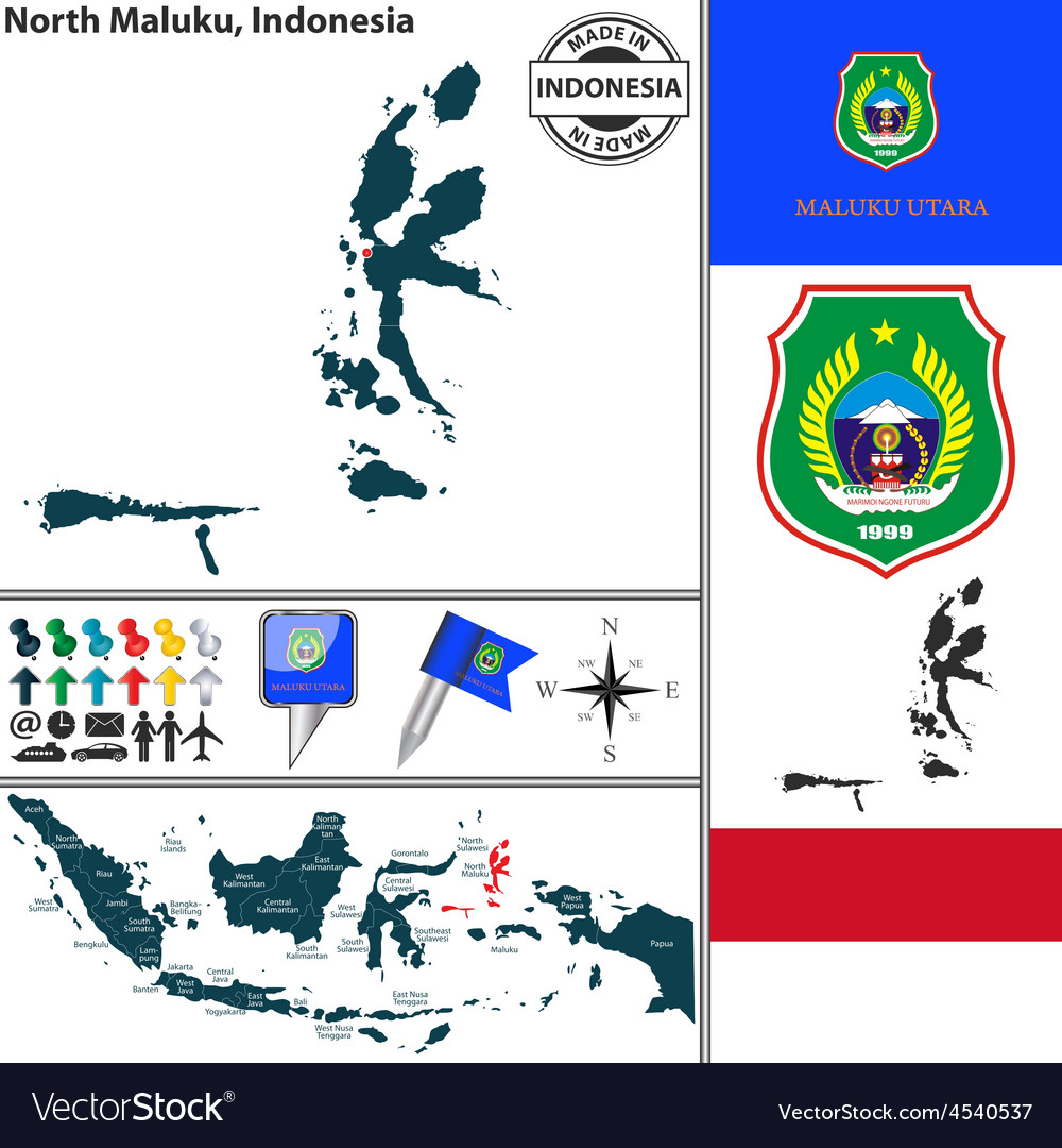 Map of North Maluku