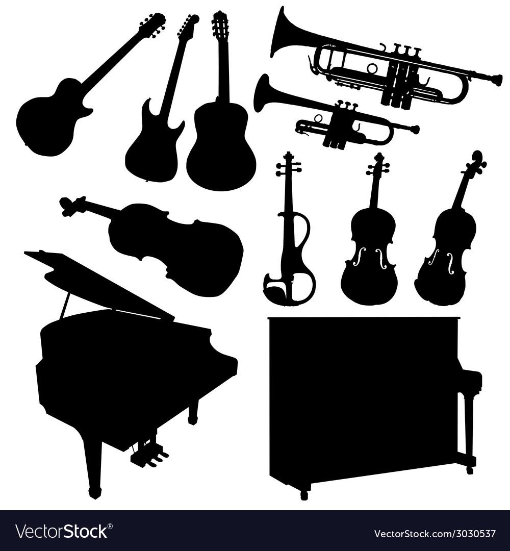 Music instrument black
