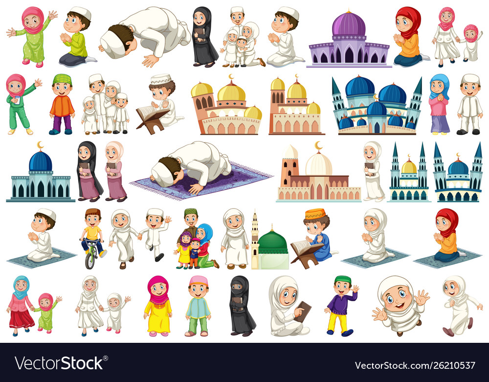 Set muslim character