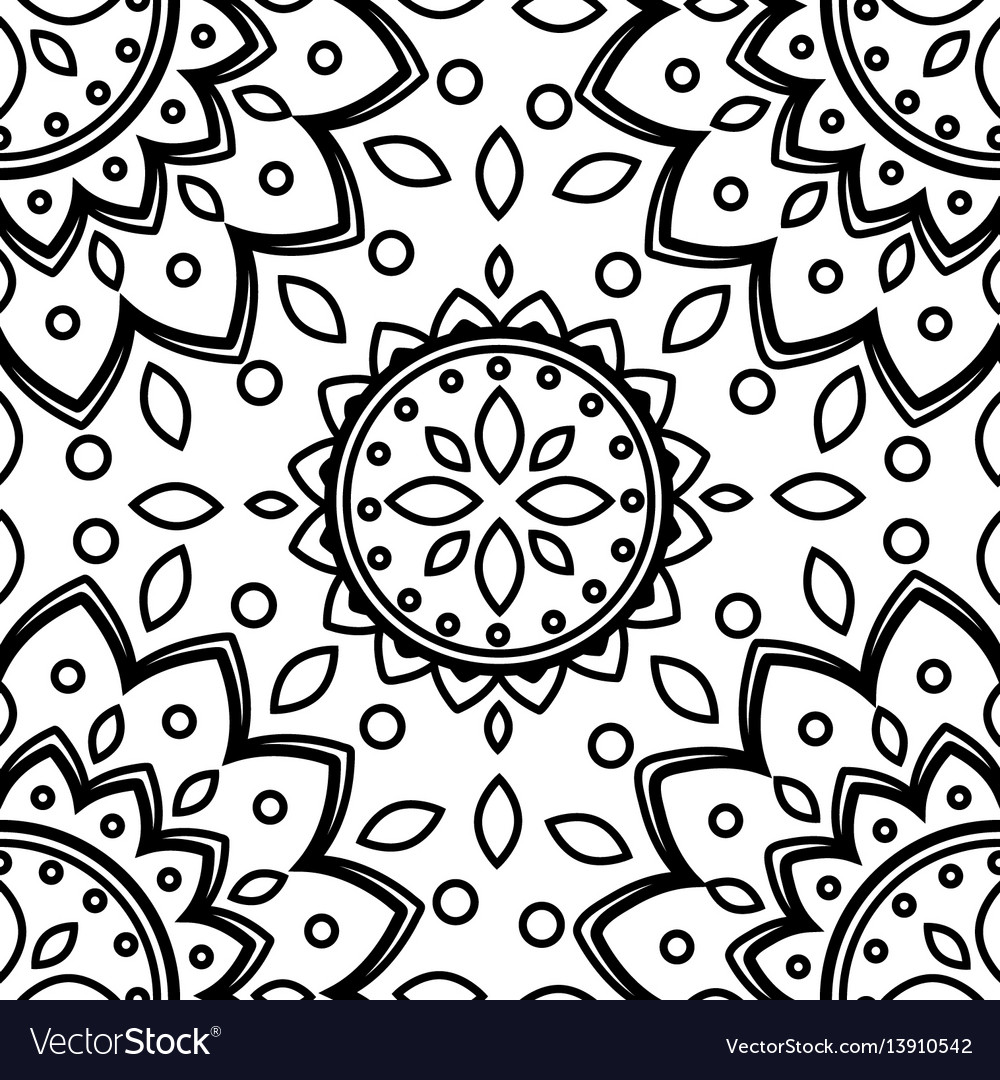 Pattern flower texture seamless background