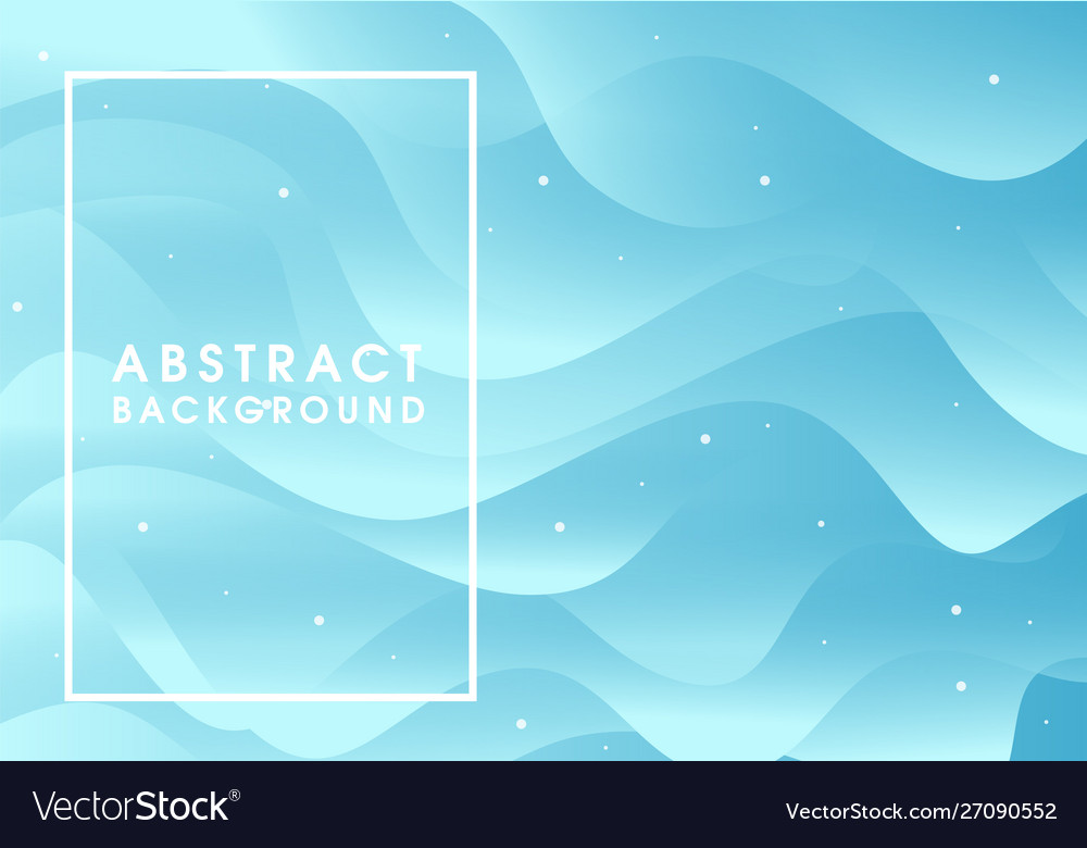 Abstract blue flowing background